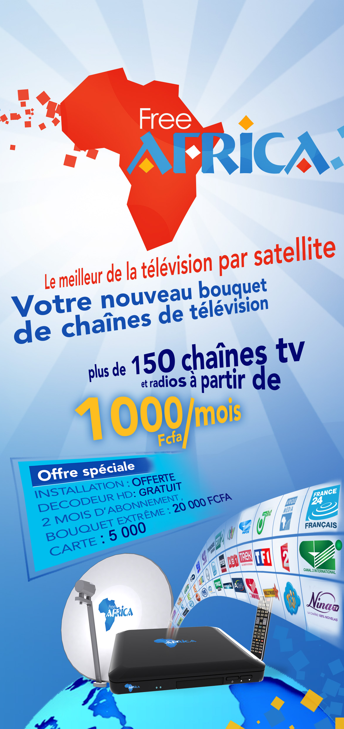 description décodeur sat canal plus
